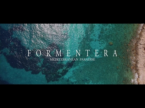 FORMENTERA  4K, balearic islands (Spain)  DJI Phantom 3 professional drone