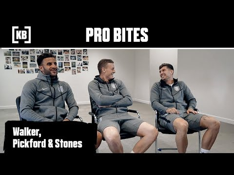Walker, Pickford & Stones - England World Cup Wrap Up Pro Bites  | Kitbag