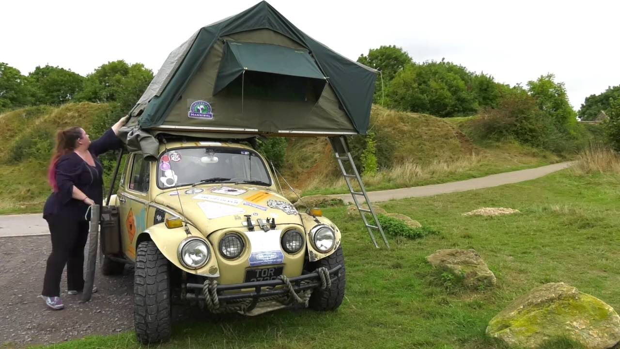 Beetle roof tent demo  sc 1 st  YouTube & Beetle roof tent demo - YouTube
