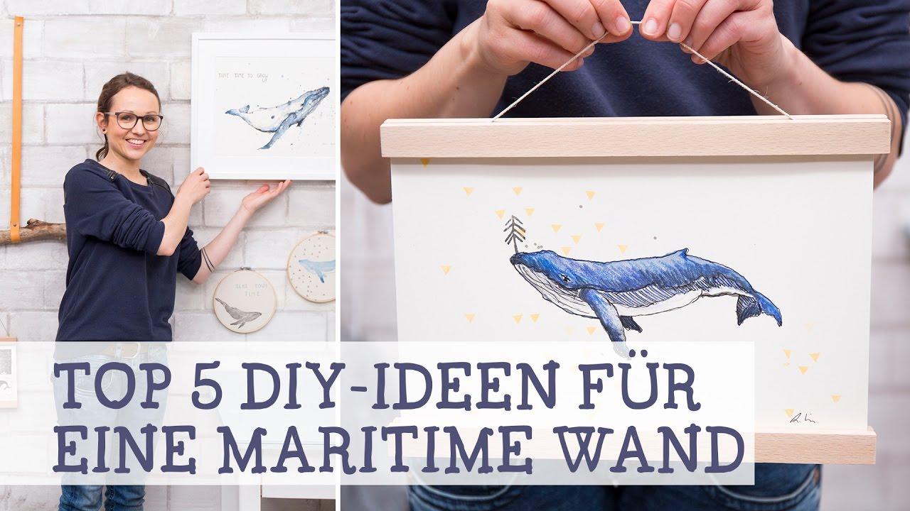 5 einfache Anleitungen für eine maritime Wand - YouTube