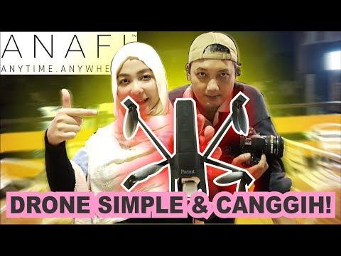 Review Drone PARROT ANAFI ft Arya Dega - Praktis dan Ga ribet !