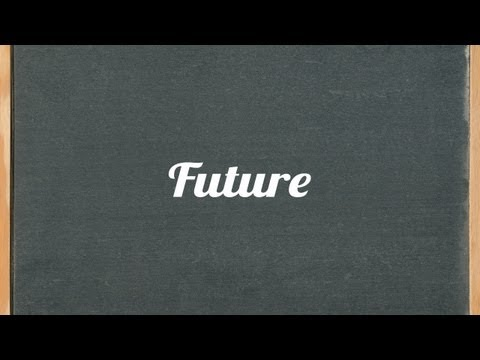 Future tense: English grammar tutorial video lesson
