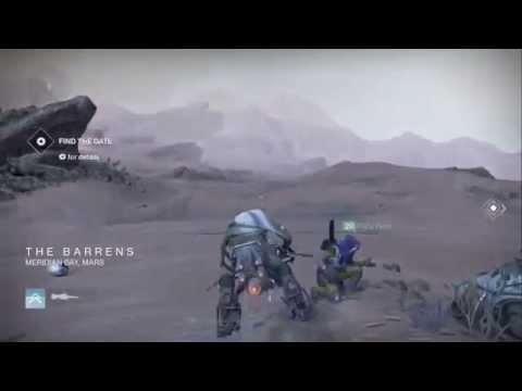 Destiny-The Barrens (Darkness Zone)