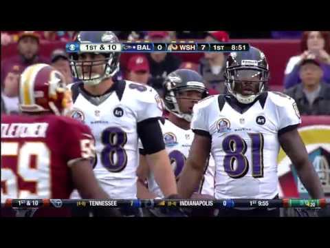 2012 Ravens @ Redskins