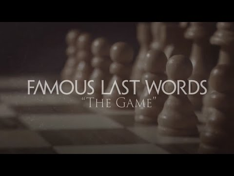 Famous Last Words - The Game (Official Video)