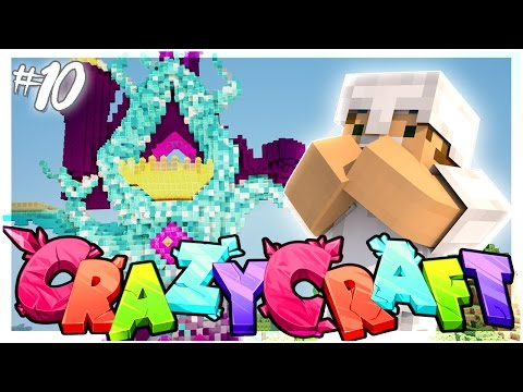 BUILDING THE CASTLE OF DREAMS! | EP 10 | Crazy Craft 3.0 (Minecraft Youtuber Server)