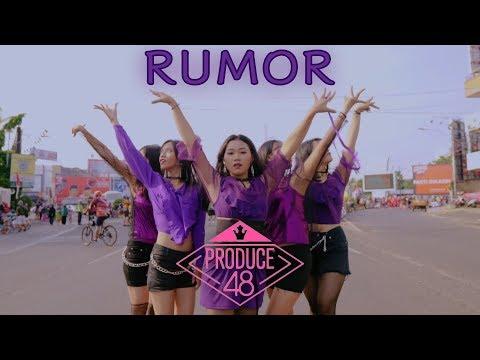 "[KPOP DANCE IN PUBLIC CHALLENGE ] PRODUCE48 (프로듀스48) - ♬ ""RUMOR (루머)"" Dance Cover by Cavendo"