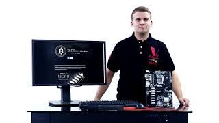 УЖЕ В НАЛИЧИИ | Обзор ASRock H110 Pro BTC+ материнская плата на 13 видеокарт