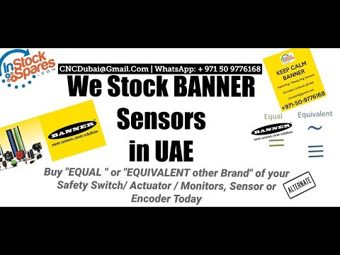 Buy Banner Sensors inSTock @UAE Same day Ship to : Bahrain| Kuwait | Saudi arabia | Oman | Qatar