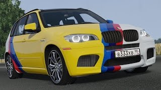 BMW X5M E70 Gold Edition drive (Links) - Racer: free game