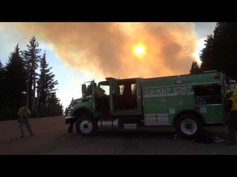 Watch & Listen Live: Aerial Firefighting Operations in Crater Lake National Park - Bybee Fire 2016
