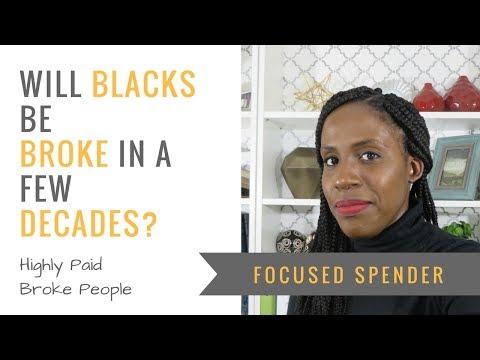 Will Blacks Be Broke in a Few Decades?