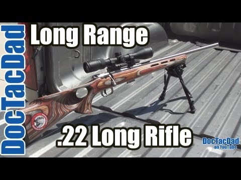 Long Range .22LR - 344 Yards Savage Mark II BTVSS