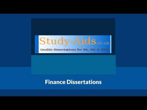 Finance Dissertation Topics for University Students