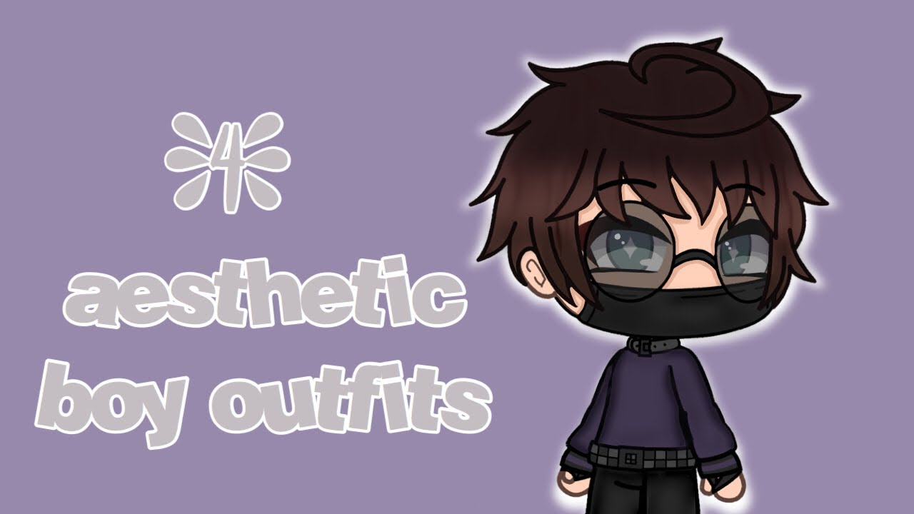4 aesthetic outfits (boys) ~