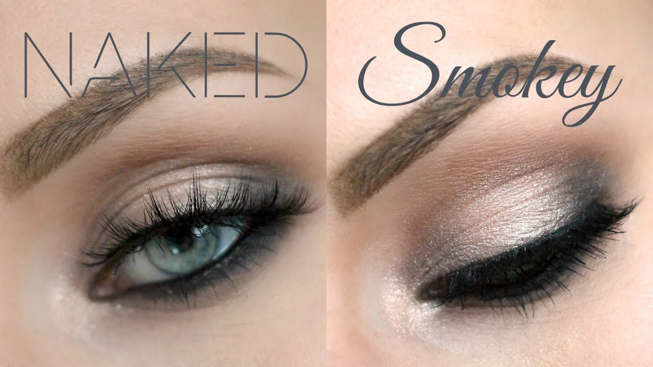 Extrêmement Urban Decay Naked Smoky Palette Tutorial - Grungy Smoky Eye  JK35