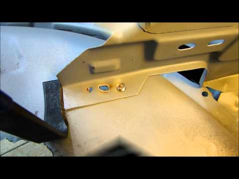 Cutting and Removing Spot Welds