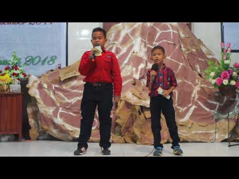 Moses Juneri-Ezer Twopama Manihuruk Duet Pada Natal Korintus