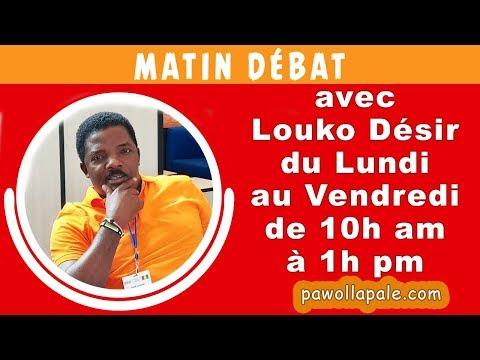 MATIN DÉBAT  - Ayiti-Dwòg : Gen moun yo arete, gen moun yo pral arete, gen moun ki gen kè sote