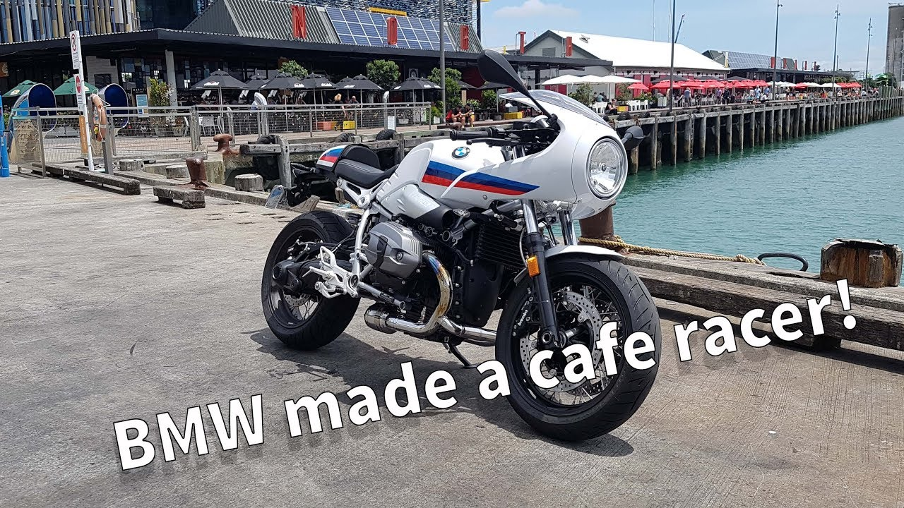 2017 Bmw R Nine T Racer Review The Factory Cafe Racer Youtube
