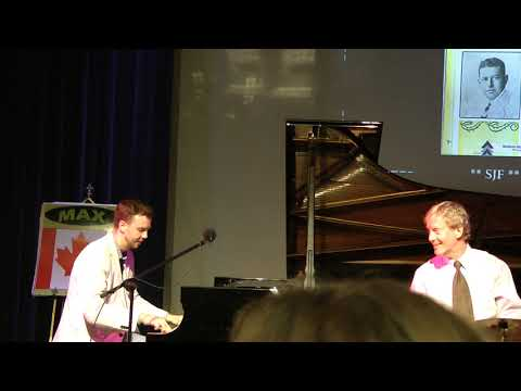 """I'LL FOLLOW YOU"": MAX KEENLYSIDE / DANNY COOTS (Scott Joplin Ragtime Festival, May 31, 2018)"