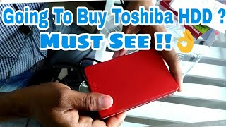 Hindi Toshiba 1TB 2TB External Hard Disk Drive Canvio Alumy Unboxing Review Opinion Buy Or Not