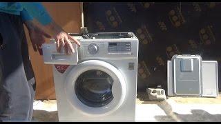 Как заменить подшипники на стиральной машине LG! ЧАСТЬ-1(Ремонт стиральной машинки LG F10B8MD замена подшипников, полная разборка машинки и устранение неисправности!..., 2016-10-31T21:01:07.000Z)