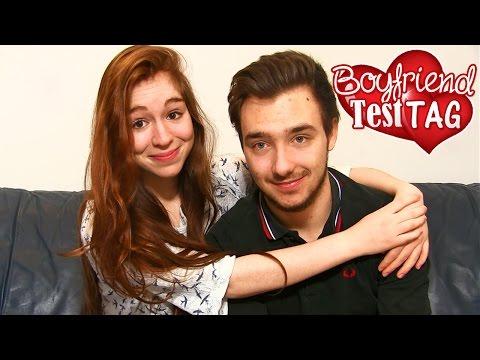 BOYFRIEND TEST TAG ! ♥ Plein de Défis avec David Lafarge !