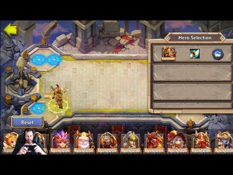 Aries In Squad Showdown Makes Set Ups Tricky + Revitalize Castle Clash