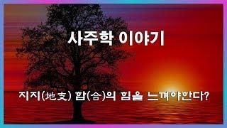 """12. 사주학이야기 """"지지(地支) 합(合)의 …"""