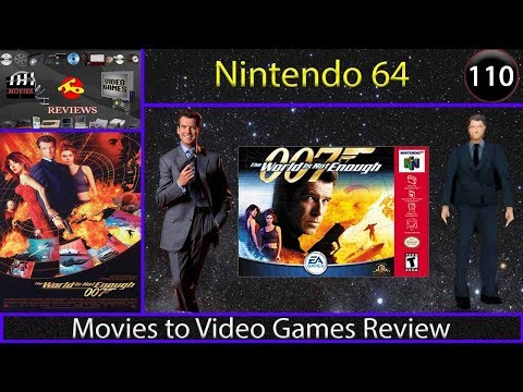 Movies to Video Games Review - The World is Not Enough (N64)