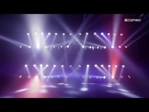 Lyre MOVO BEAM 100 CAMEO Leds RGBW 60W DMX vidéo