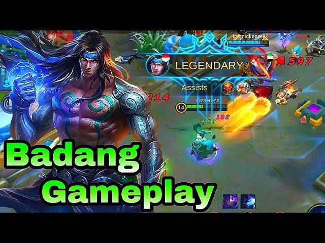 New Hero Badang Gameplay - Mobile Legends Bang Bang