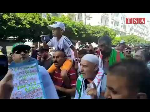 Alger, 34e Vendredi : Des Manifestants Dénoncent La LF2020