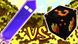 ESPADA GIGANTE ASSOMBRADA VS. LUCKY BLOCK FOGO (MINECRAFT LUCKY BLOCK CHALLENGE HAUNTED SWORD)