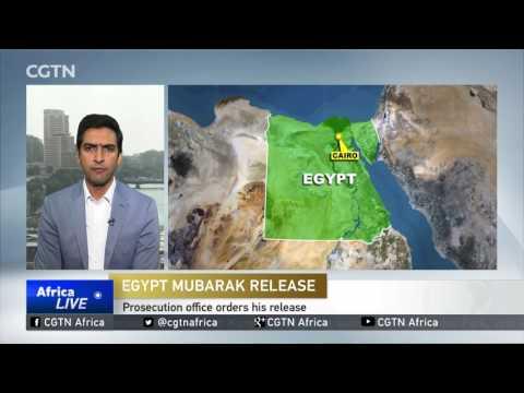 Former Egypt President Hosni Mubarak to return to former residence after release