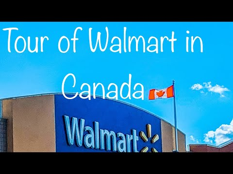 Walmart In Regina , SK, Canada