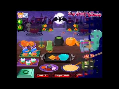 Halloween Baby Games Restaurant   Full English Episodes for Children