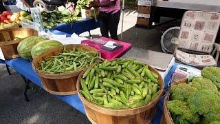 Calhoun Street Bluffton SC Farmer's Market June 4, 2015
