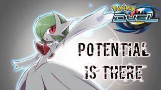 Mega Gardivor Banish deck Vs Ex banette Ghost deck Pokemon Duel
