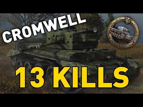 World of Tanks || Cromwell Berlin - 13 KILLS - 1 vs 6
