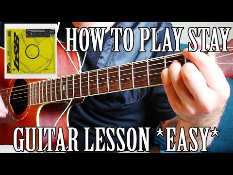 """How To Play """"Stay"""" By Post Malone On Guitar *CORRECT WAY*"""