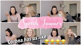 SPEECH JAMMER CHALLENGE MIT VANESSA | FUNNY AS HELL 😂😂 *lachflash incoming* | LOUISA MALOU