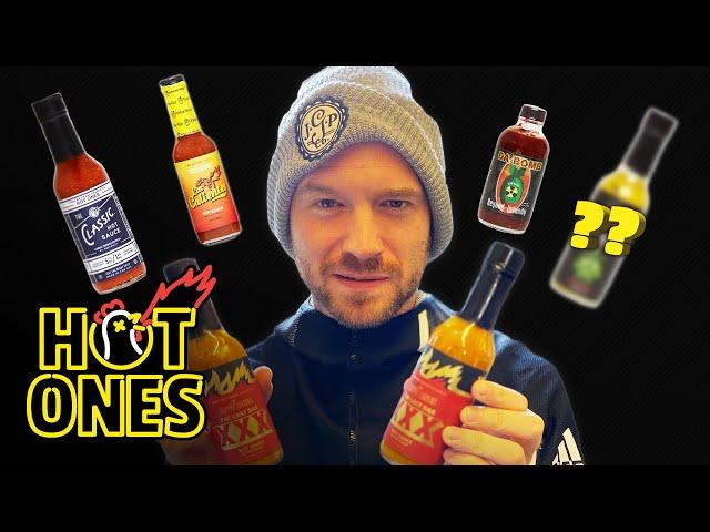 Sean Evans Reveals the Season 12 Hot Sauce Lineup | Hot Ones