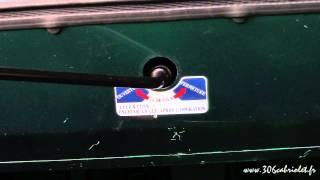 [Peugeot 306] Manipulation d'une capote électrique en manuel
