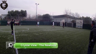 Crystal  vs  The Newtons