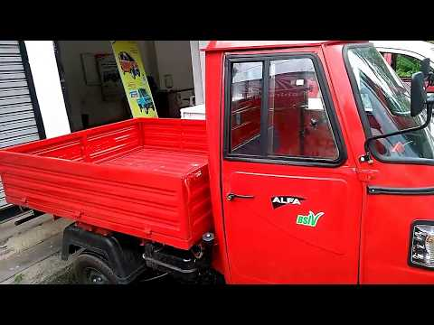 All New 2017 Mahindra Alfa BS4 Load Three Wheeler Interior and Exterior