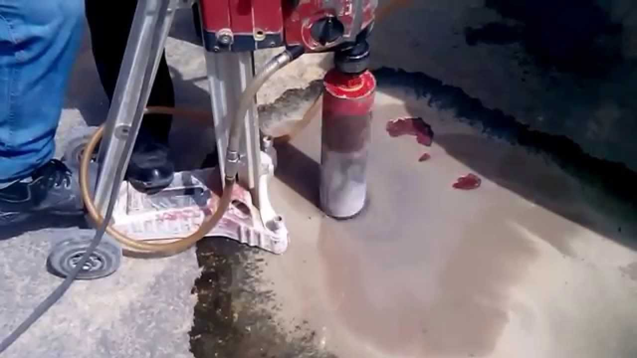 Asphalt Coring Process Youtube