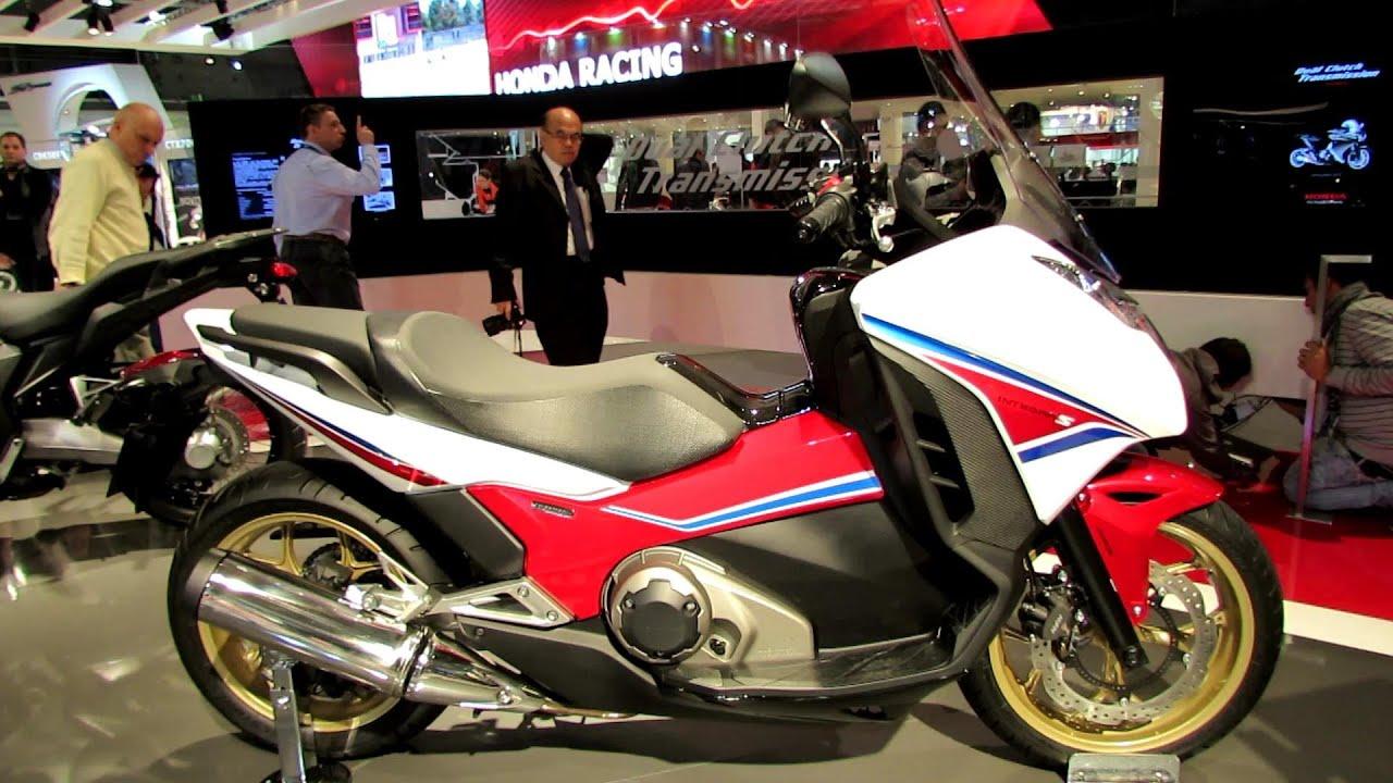 2014 Honda Integra S DCT Scooter Walkaround - 2013 EICMA Milan ...