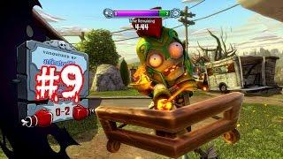 Растения против Зомби[Plants vs Zombies: Garden Warfare ].Садовая война #9